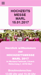 Mobile Preview of hochzeitsmesse-marl.de